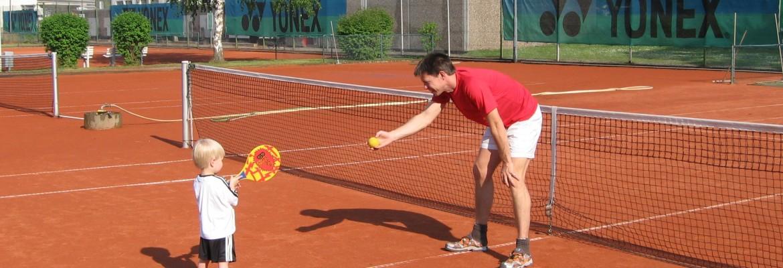 Tennis mit Spaß ...